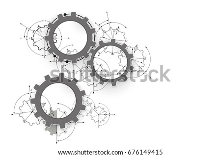 gears in engagement