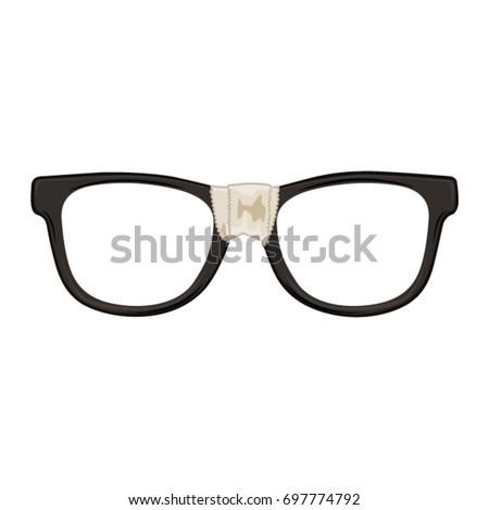 Geek Glasses Stock foto ©