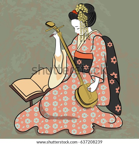 geisha japan classical japanese