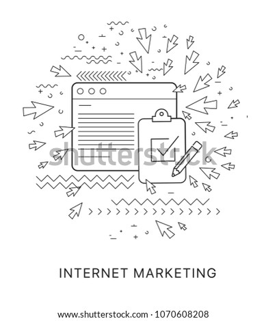 Generate leads using attraction marketing. Modern flat vector infographics of generate leads using attraction marketing. Flat illustration of generate leads using attraction marketing. Generate leads