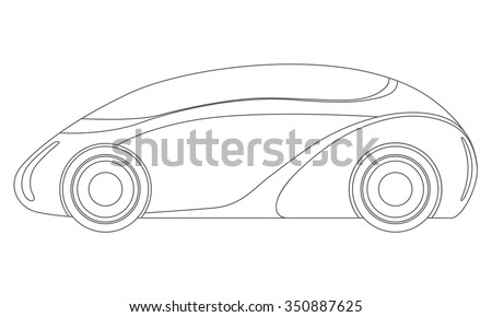 generic future vehicle  side