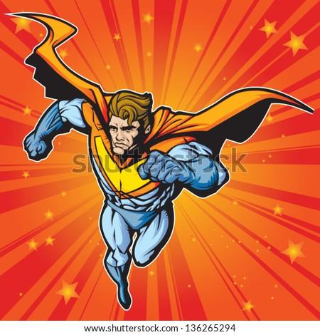 generic superhero figure