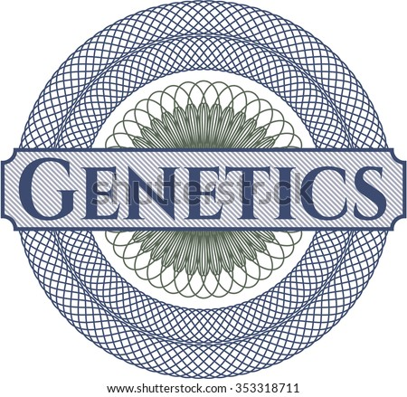 Genetics money style rosette