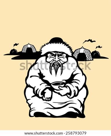 genghis khan mongolian emperor