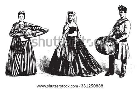 genovese costumes  merchant...