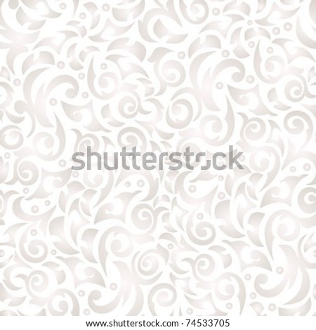 Gentle  poured seamless background with monograms