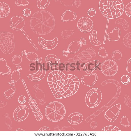 gentle seamless pattern with
