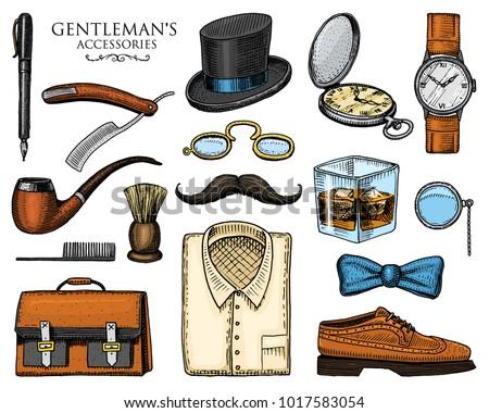 gentleman accessories hipster