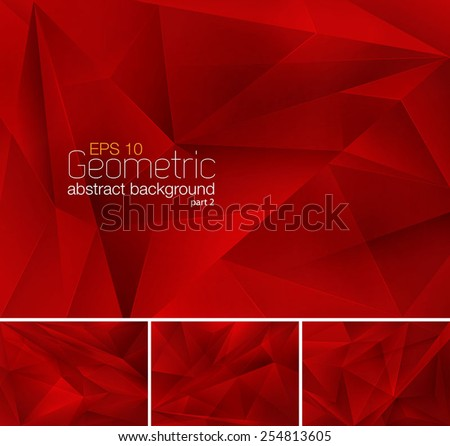 Geometric abstract background - Shutterstock ID 254813605