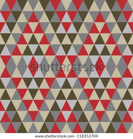 Geometric abstract background - seamless vector pattern. Ethnic vector pattern.