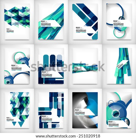 geometric abstract business