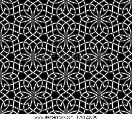 Geometric arabic seamless pattern Abstract background