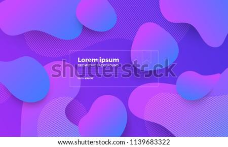 geometric background bright