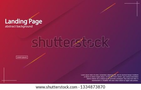 Geometric background. Dynamic shapes composition. Eps10 vector. #1334873870