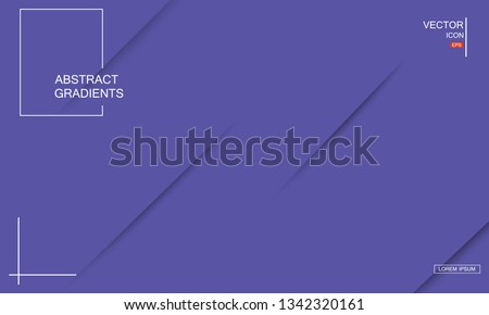 Geometric background. Dynamic shapes composition. Eps10 vector. #1342320161