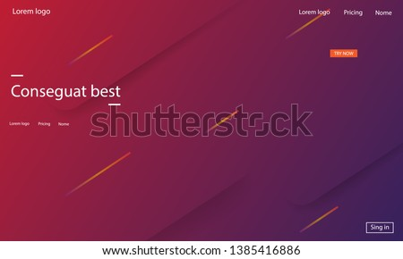 Geometric background. Dynamic shapes composition. Eps10 vector. #1385416886