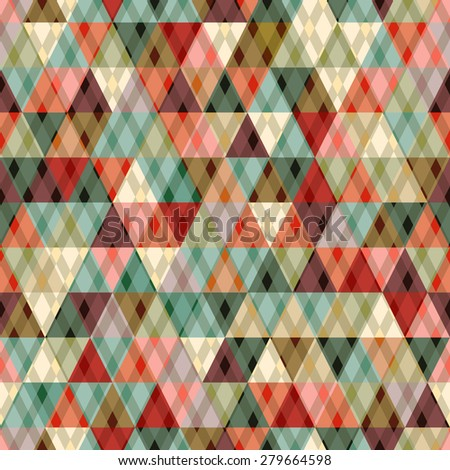 geometric background made of