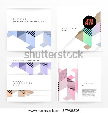geometric background template
