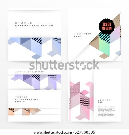 geometric background template
