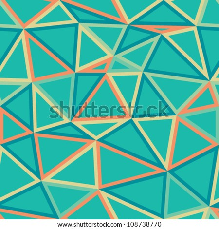 Geometric background. Vector illustration.