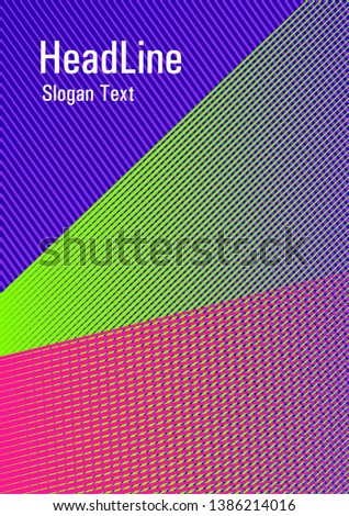 Geometric banner flyer background vector template. 2d abstract shapes flat tech composition. Dynamic technological wallpaper. Digital stylish outlet backdrop. Laconic rectangle cover template.