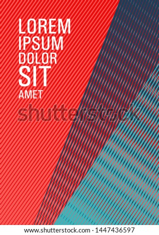 Geometric banner flyer background vector template. Future geometric pattern Eps10 vector. Creative leaflet backdrop. Contemporary paper cover design. Advertising commercial magazine.