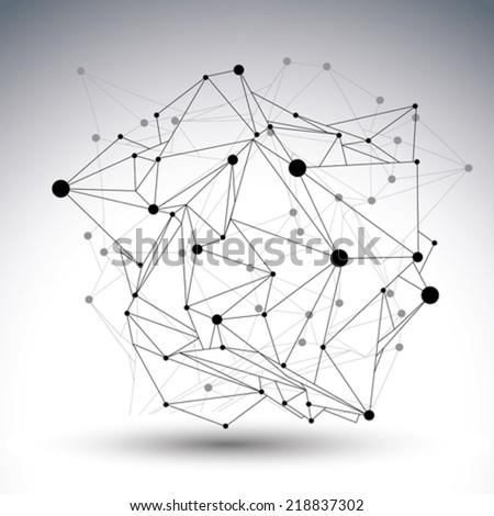 geometric black and white