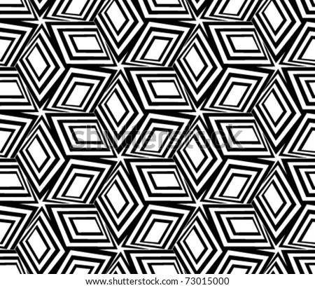 geometric patterns black and white. stock vector : Geometric black
