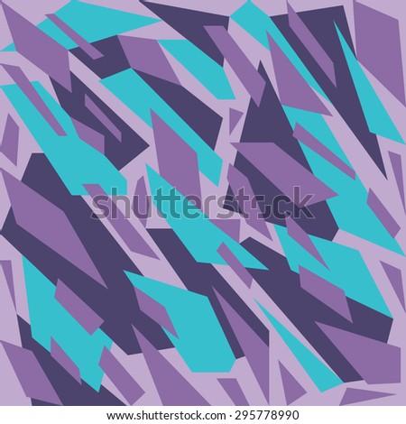 Geometric camouflage pattern background