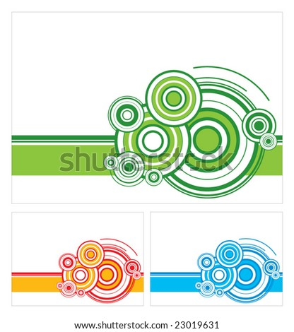 Geometric color background vector