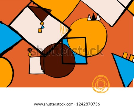 geometric colored shapes