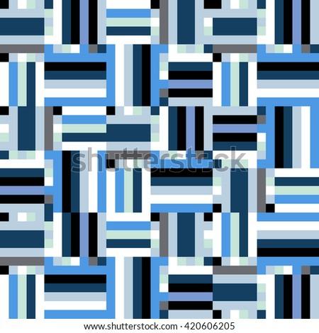 geometric colorful op art