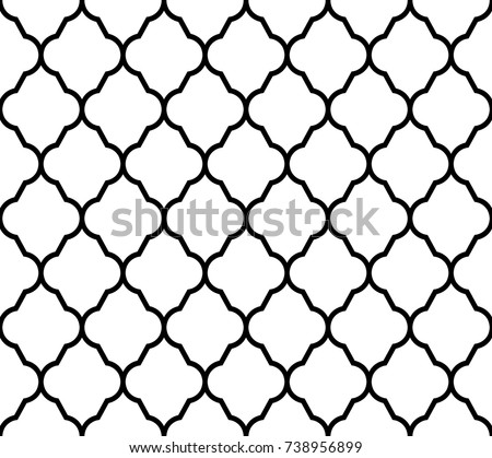 Geometric design seamless pattern. Vector illustration isolated on white background.