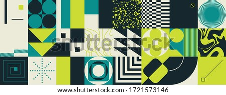 geometric distress aesthetics