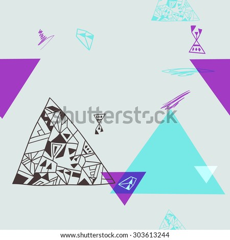 geometric elements. seamless background