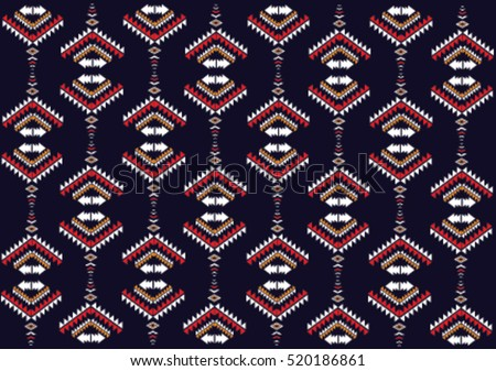Geometric Floral Motif Pattern Download Free Vector Art Stock