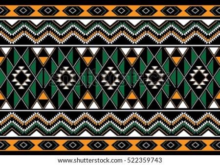 Geometric Ethnic Pattern Download Free Vector Art Stock Graphics