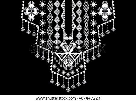 Geometric Ethnic Pattern Download Free Vector Art Stock Graphics