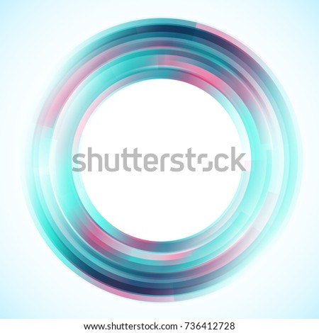geometric frame from circles