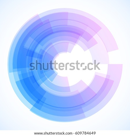 Geometric frame, vector abstract background, wallpaper