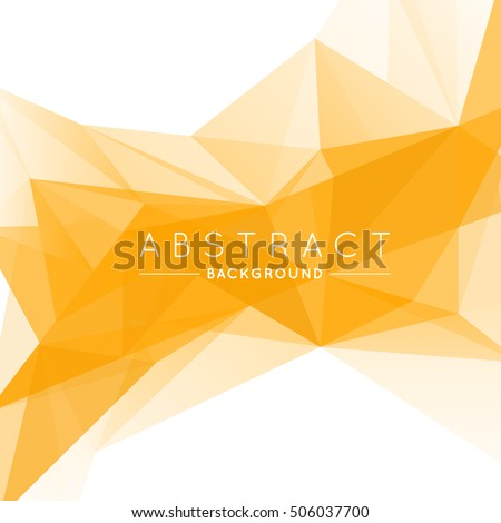 stock-vector-geometric-gold-and-white-abstract-vector-background-for-use-in-design-modern-polygon-texture-with