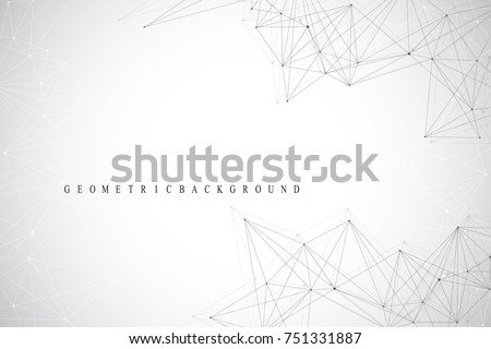 stock-vector-geometric-graphic-background-communication-global-network-connections-wireframe-complex-with