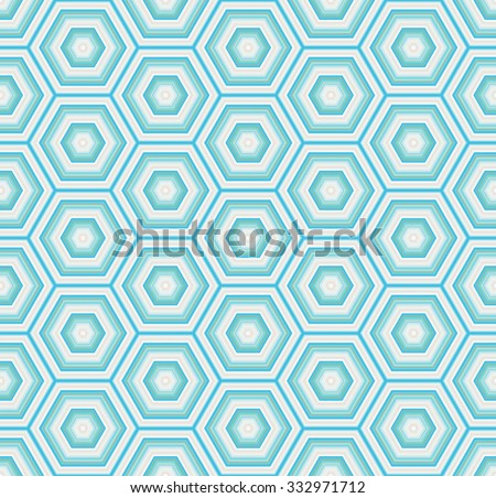 geometric hexagon seamless