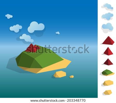 geometric illustration of