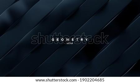geometric minimalist 3d pattern