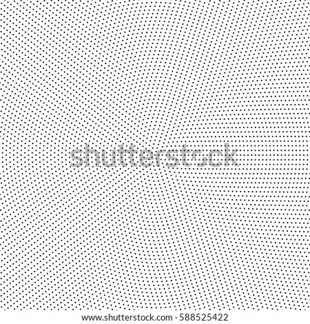 Geometric modern vector pattern. Black and white ornament with dotted elements. Geometric abstract pattern