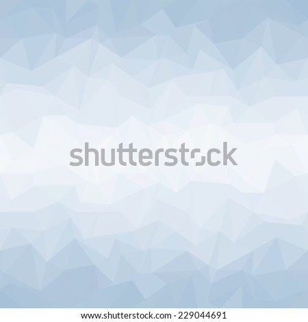 Geometric mosaic Background blue