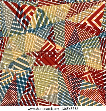 geometric optical seamless