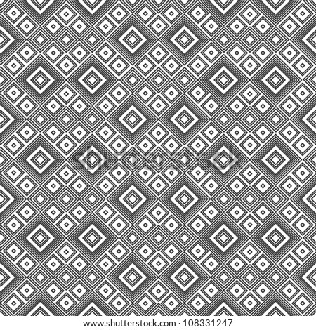 Geometric pattern - black and white