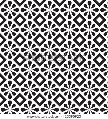 GEOMETRIC PATTERN. Editable vector illustration file.